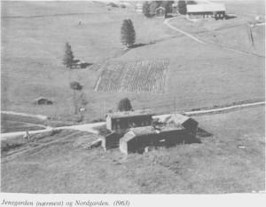 Jensgarden (Nærmest) og Nordigarden (1963)