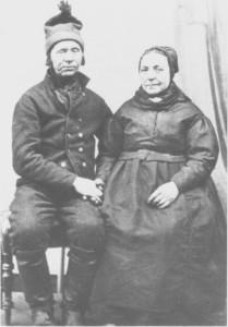 Ole Ingebrigtsen og Anne Lisbeth Pedersdtr. Aunetrø
