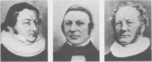 Falch Andreas Widerøe var herredets første ordføordfører 1848-55. Hans Emanuel Sandborg var sokneprest 1813-1826. Hans Henrik Emil Tybring var sokneprest 1834-45 og var sokneprest 1845-61