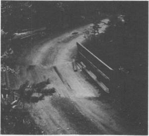 Omlegginga av vegen i Kubjørga i slutten av 1800-tallet var et stort løft. Her er en del av gammelvegen ved Seteråa bru.