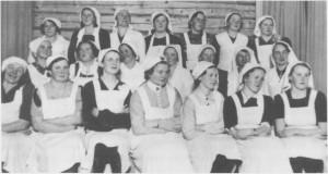 Etter utbrottet av den andre verdenskrigen ble den sivile beredskapen økt. I Tydal ble det holdt et førstehjelpskurs i Breidablikk under ledelse av Gudrun Sølberg (g. Kirkvold).