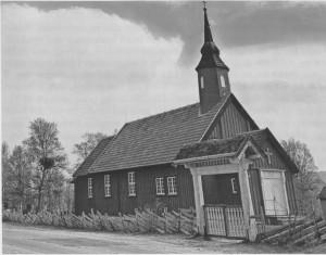 Stugudal kapell, vigsla 1957.