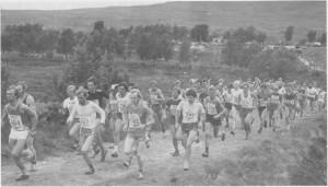 Fra Karolinerløpet i 1980. (Foto Selbyggen.)